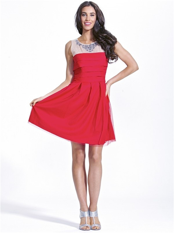 Red Carpet Dress by Fate  Now: $139.95 #dress #sheer #fashion