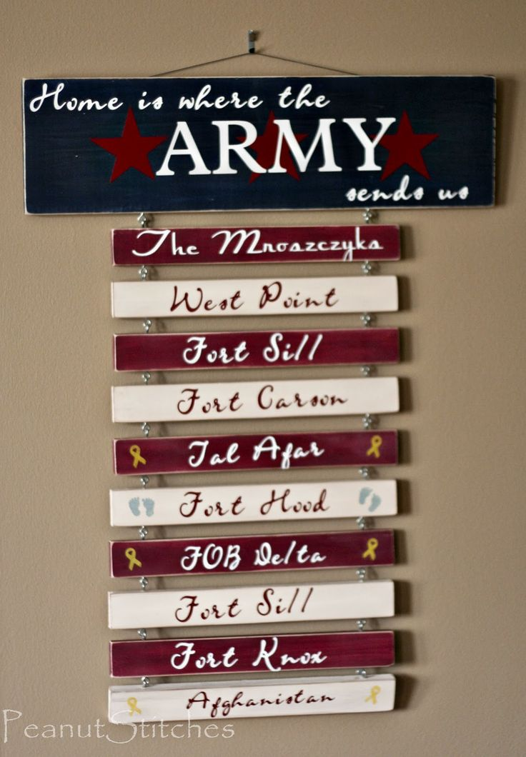 So cute for Mandie! I love the deployment ribbon and baby feet ideas.