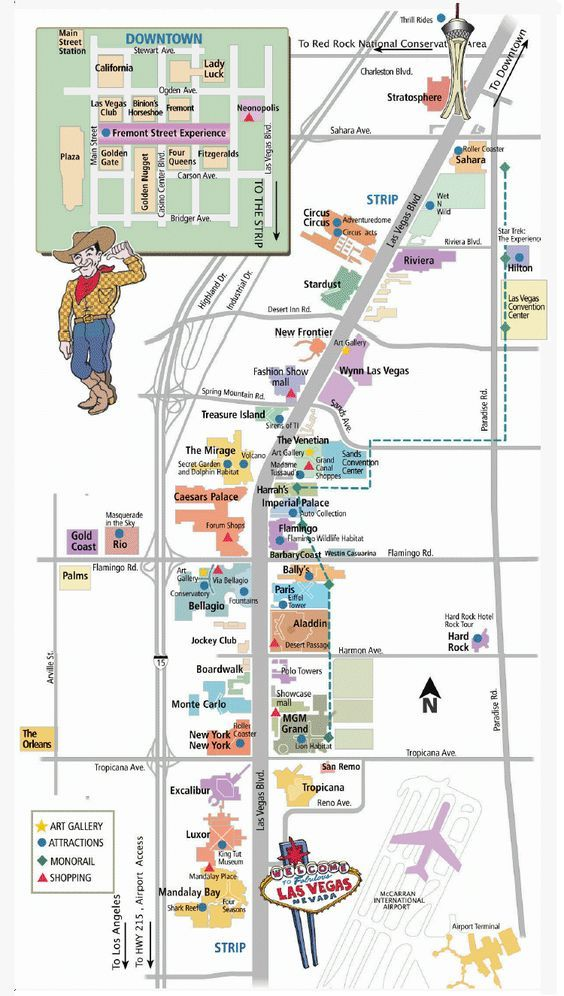 Best 25 Las Vegas Strip Map Ideas On Pinterest: Las Vegas Tourist Map Pdf At Infoasik.co