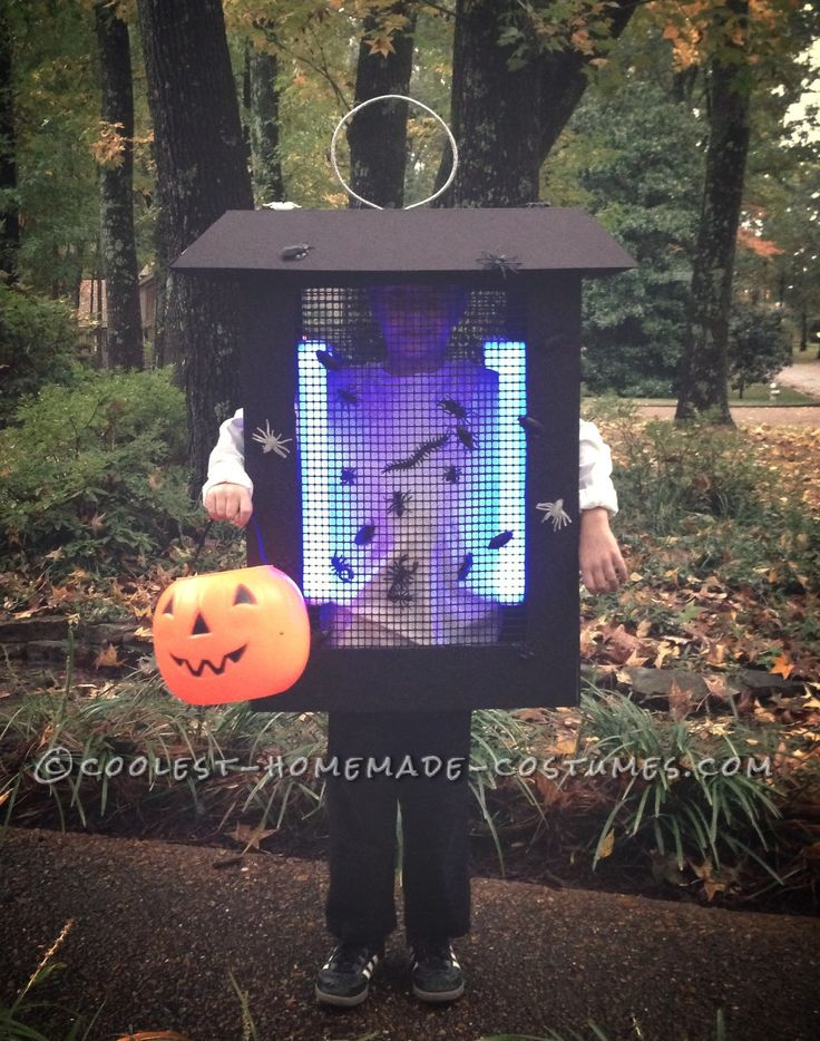 2013 Halloween Costume Contest Runner-Up. Bug Zapper costume submitted by Melissa from Germantown, TN...