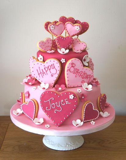 Birthday Cakes for Her, Womens Birthday Cakes, Coast Cakes, Hampshire, Dorset www.coastcakes.co.uk