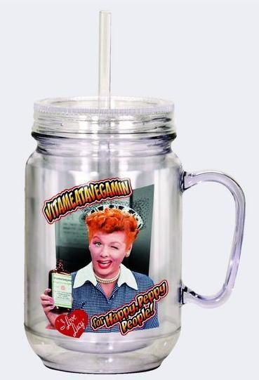 Jar Handle Insulated Mugs Mason