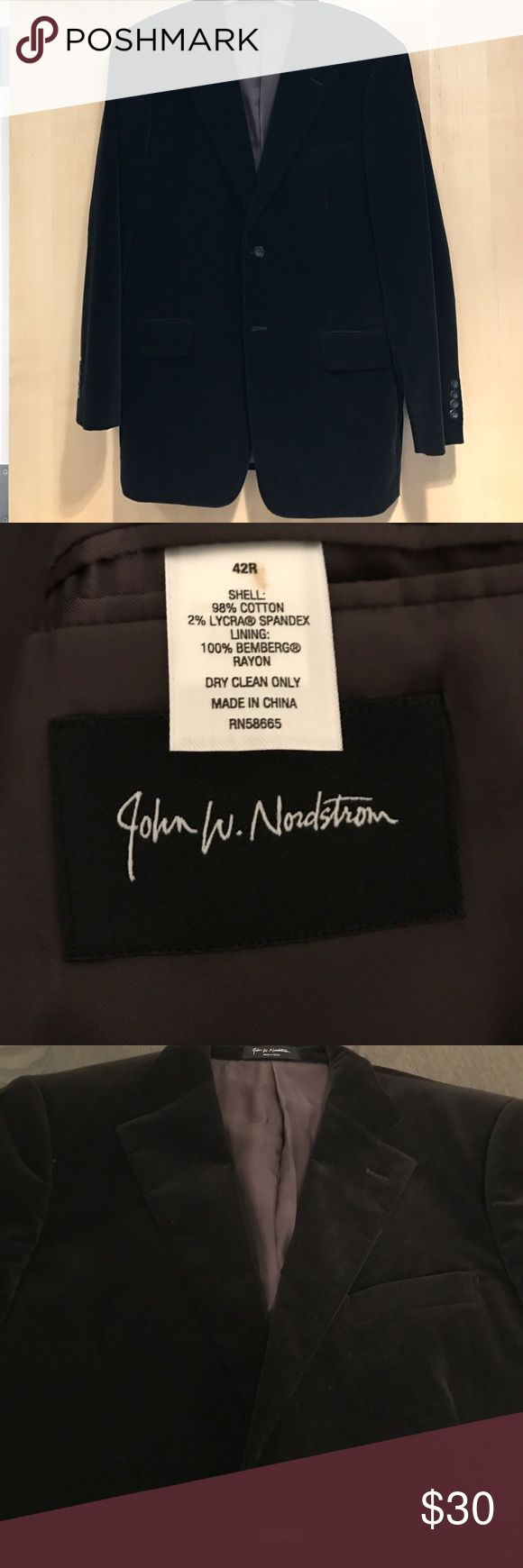 John Nordstrom Brown Corduroy Sports Coat size 42R Great Condition! John Nordstrom Suits & Blazers Sport Coats & Blazers