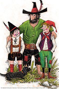 #räuberhotzenplotz #autor #preußler #klassiker #kinderbuch #abenteuer #dieb #räuber #gemine #seppl #casperl
