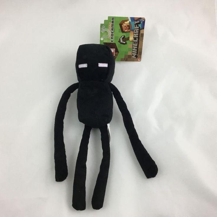 """Mojang Minecraft 10"""" Plush Character Doll Series #1 Enderman #Mojnay"""
