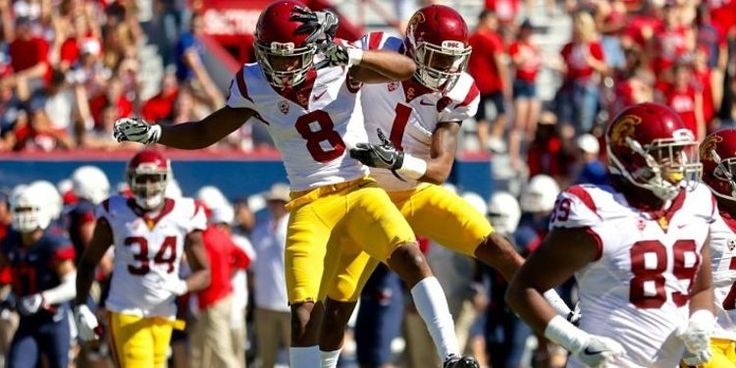 9 USC Trojans vs 5 Penn State Nittany Lions Rose NCAA Football Bowl Game