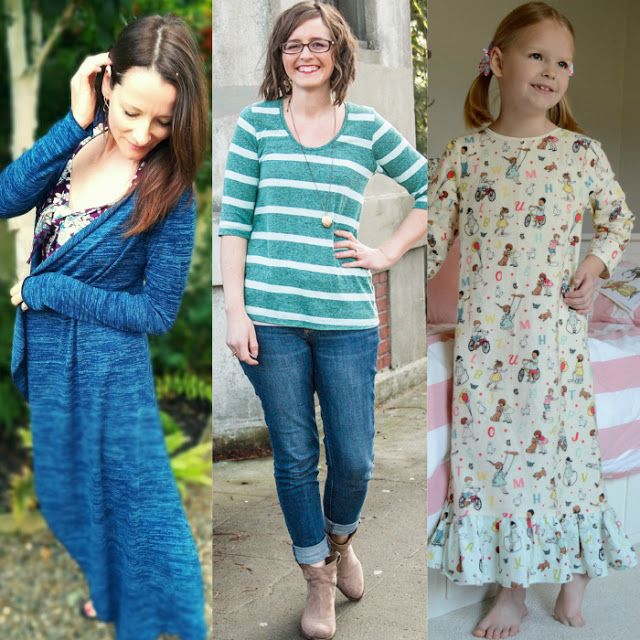 NEW sewing patterns from popular indie designers Valentine & Stitch, Straight Stitch Designs, and Seamingly Smitten have all been added to the shop! Take a closer look at a few of our favorites paired with coordinating Girl Charlee knits today at blog.girlcharlee.com