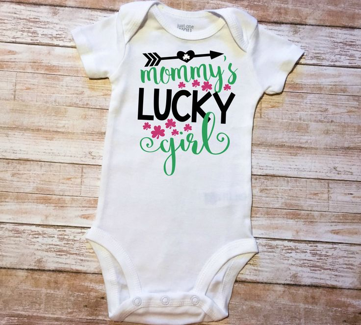 Mommy's Lucky Girl-Saint Patty's Day, My First St.Patrick's Day, Dia de San Patricio, March 17th, Kiss Me I'm Irish, My 1st S.t Patrick by MiaMiniBoutique on Etsy