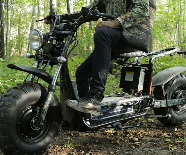 Solar Powered Off Road Scooter - http://tiwib.co/solar-powered-off-road-scooter/ #Transportation