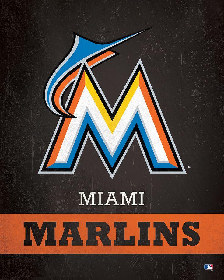 Miami Marlins Logo $24.99