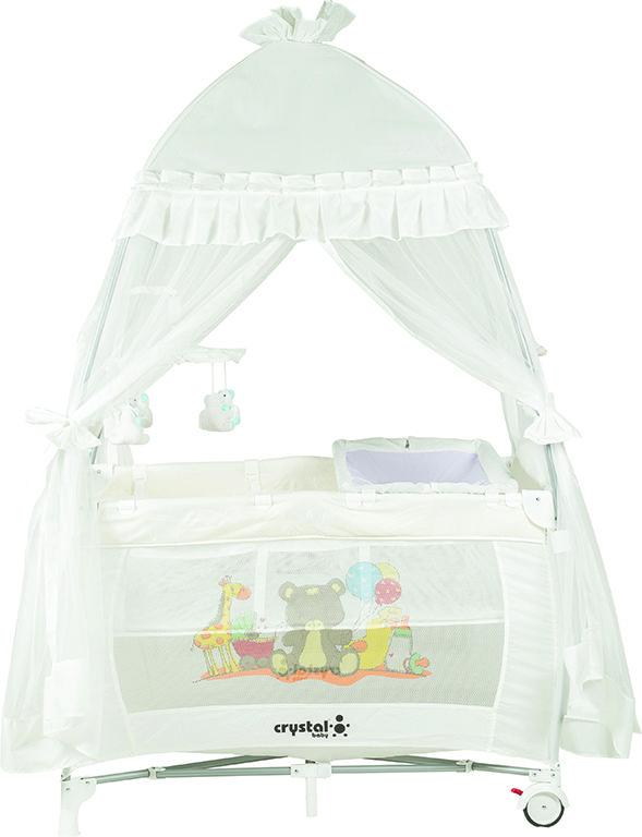 Crystal Baby Floransa Oyun Parkı - Beyaz ürününü inceleyin
