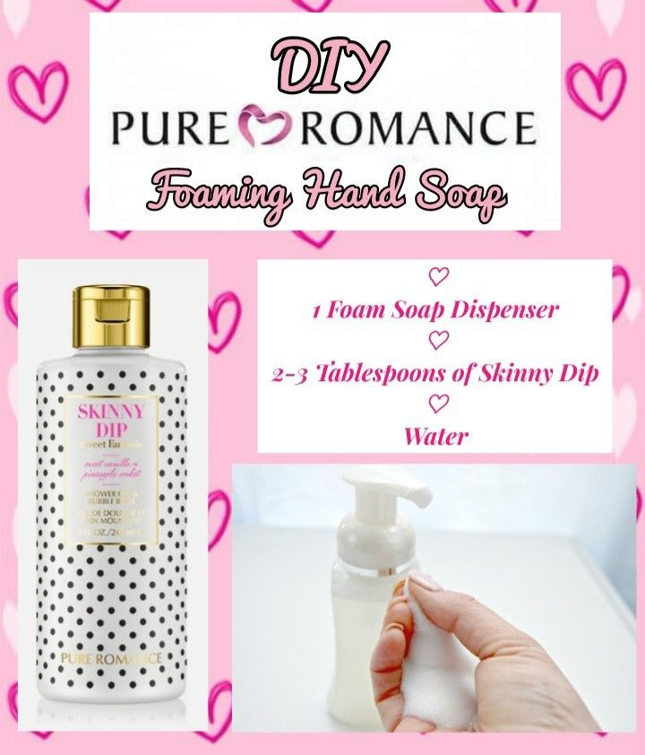 Do You Love A Diy Try This Fabulous Foaming Hand Soap Using Pure