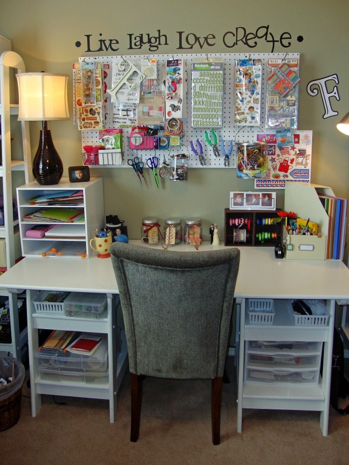 Another Day at the Freemans: My Scrapbook Room