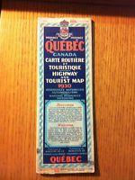 [FR]Cartes routières - Road Map - Vintage - 8 cartes Drummondville Centre-du-Québec Preview