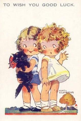 good luck ~ Agnes Richardson card