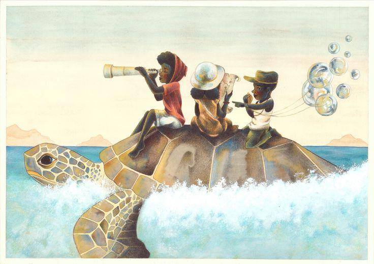 """""""Hope"""" Illustrazione di Marco Lorenzetti. Tecnica: acquerelli, pastelli a matita e acrilico bianco."""