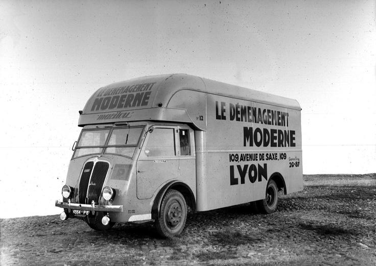 camion renault de l u0026 39 entreprise  u0026quot le d u00e9m u00e9nagement moderne