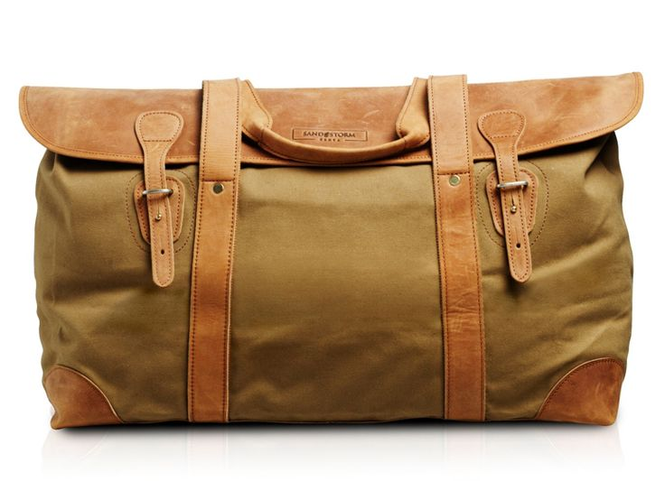 Sandstorm Long Weekender in Tan Canvas     £205.00    Also available in Green Canvas, Mocha and Tan Pull-Up Leather