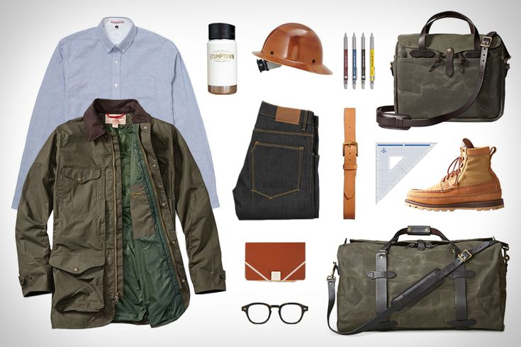 This Garb page is a gold mine. That Filson Explorer Jacket looks beautiful as an alternative to Barbour.