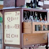A free dresser with peeling veneer became a portable outdoor beverage… :: Hometalk