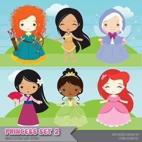 Princess set 2 - Minus  http://moniquestrella.minus.com/mjL2u0xvQSGM