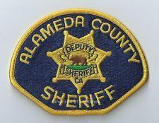 California Alameda County Deputy Sheriff Patch