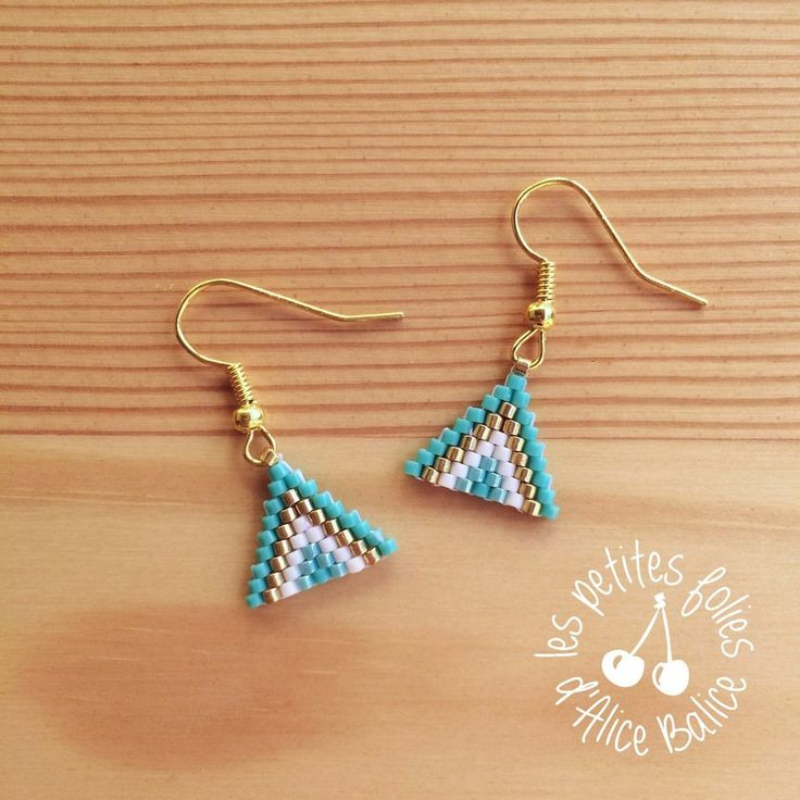 earrings youtube watch tutorial brick stitch turquoise