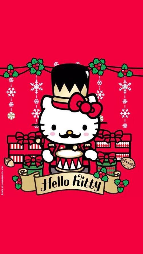 Hello kitty hello kitty pinterest noel et cloche - Hello kitty noel ...