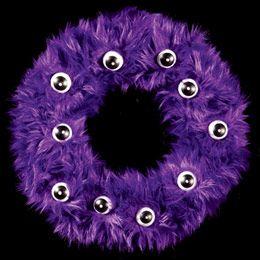 Halloween: DIY Fur-ocious Wreath