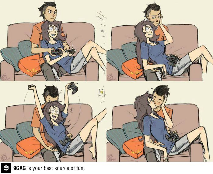 There is nothing better than gamer relationship