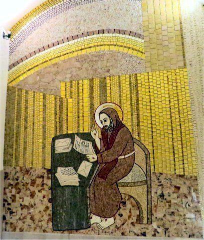 Mosaïque de la vie de Saint Padre Pio par Marko Rupnik - San Giovanni Rotondo