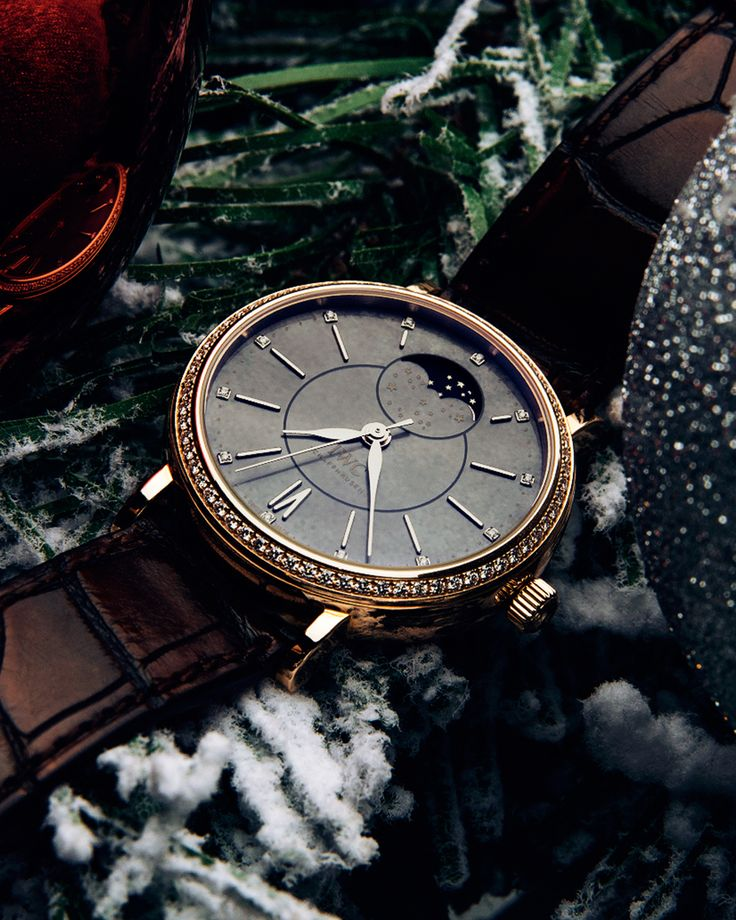 Ready to sparkle during this Holiday Season with the IWC Portofino Automatic Moon Phase 37