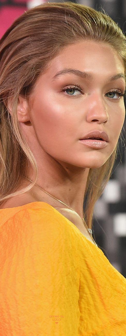 Gigi Hadid stunning makeup at the 2015 MTV VMA's | LOLO❤︎                                                                                                                                                                                 More