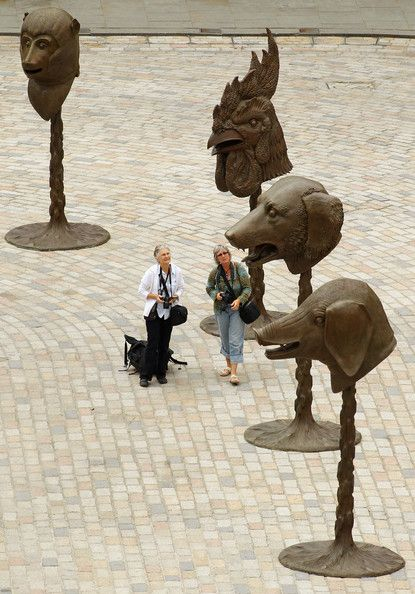 Bronze heads of animals by the artist Ai Weiwei, Ai Weiwei's ''Circle Of Animals/Zodiac Heads ''