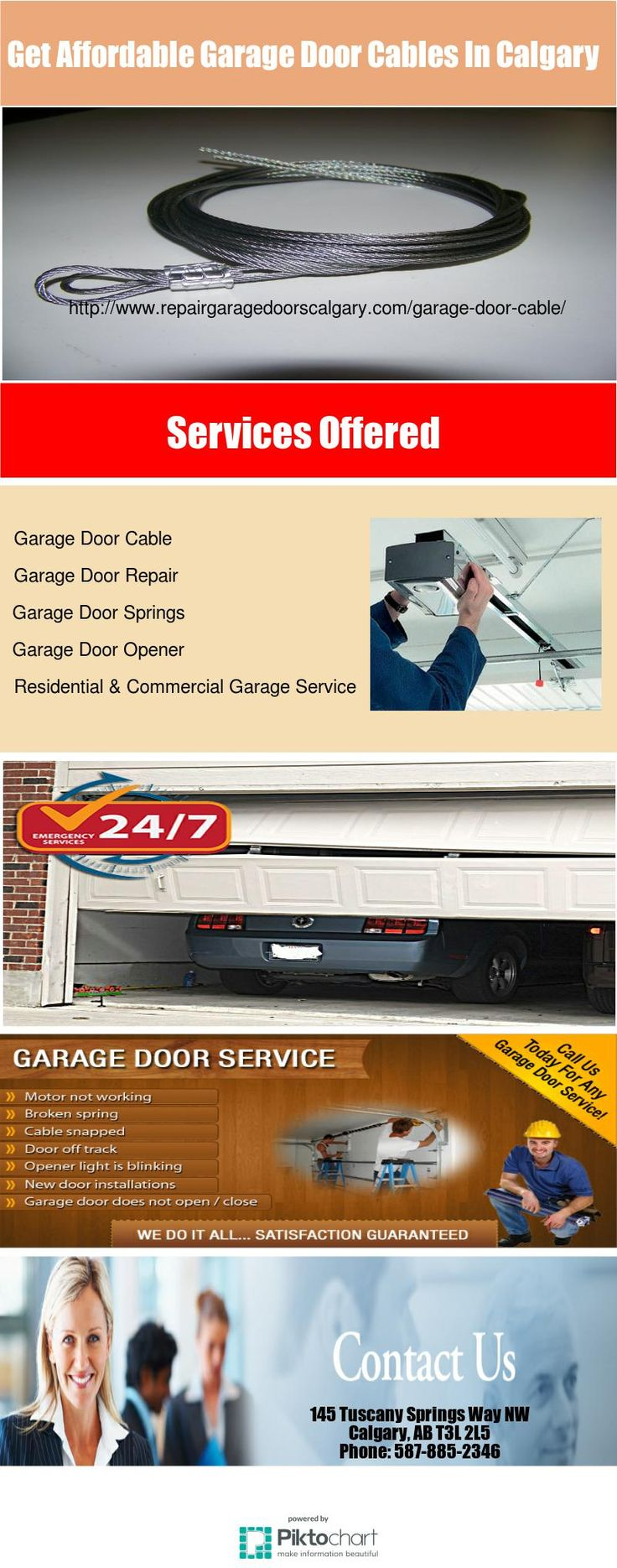 Repair Garage Doors Calgary offers tensile garage door cable for the smooth  operation of your garageBest 25  Garage door cable ideas on Pinterest   Garage doors parts  . Exterior Door Parts Calgary. Home Design Ideas