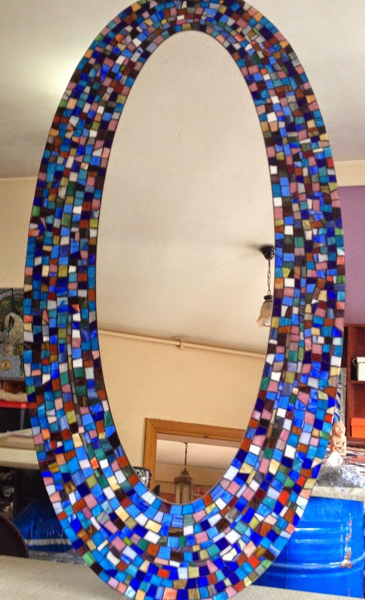 Mozaik Sanat Evi mozaik ayna çalışması