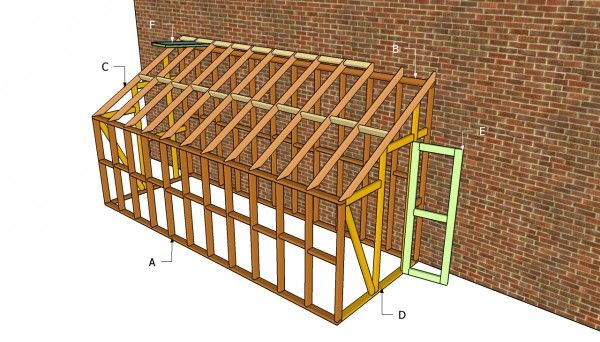Lean to greenhouse plans   Free Outdoor Plans - DIY Shed, Wooden Playhouse, Bbq, Woodworking Projects