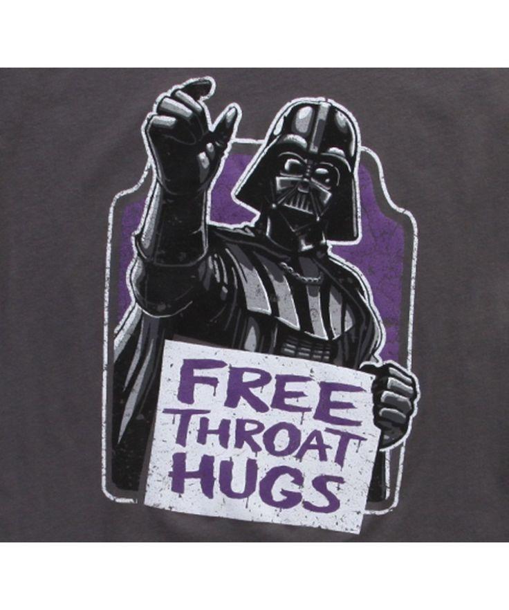Tee shirt Embrassements de gorge gratuits Star Wars   – Cool stuff