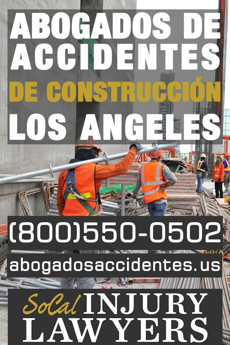 Abogados de Accidentes de Construcción en Los Angeles  Si usted o un miembro de su familia ha sufrido lesiones o fallecido en una obra de construcción, mientras trabajaba, por favor, póngase en contacto con Las Oficinas del Abogado Chahine al (800)550-0502 para una consulta gratis.