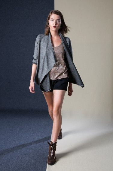 Wrap Jacket, Racer Back Vest, Contour Shorts