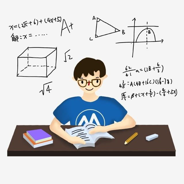 Student Class Exam Review College Student Mathematics School PNG Transparent Clipart Image and PSD File for Free Download in 2020 Student clipart Exam review Reading college