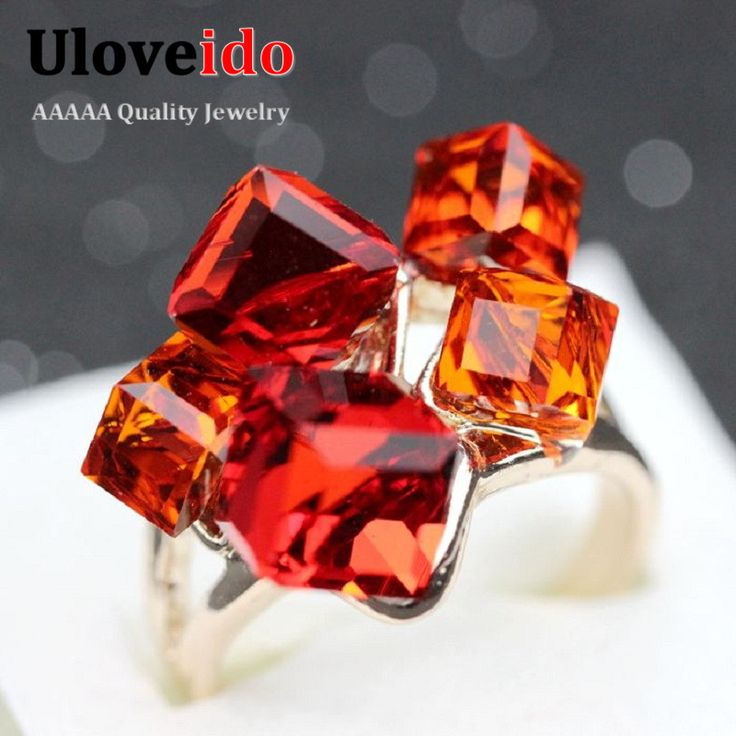 Find More Rings Information about Hot Sale 2015 Ring Jewelery for Women Party Decoration Womens Gift Cubic Zircon Diamond Rings Band with Red and Blue Ulove GR123,High Quality ring handmade,China ring report Suppliers, Cheap ring hardware from ULOVE Fashion Jewelry on Aliexpress.com