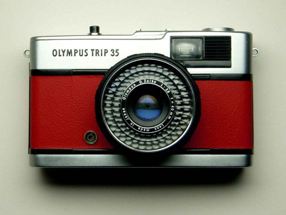 Olympus Trip 35  refurbished 1970s film camera by AfternoonTrain, $75.00    WANT.