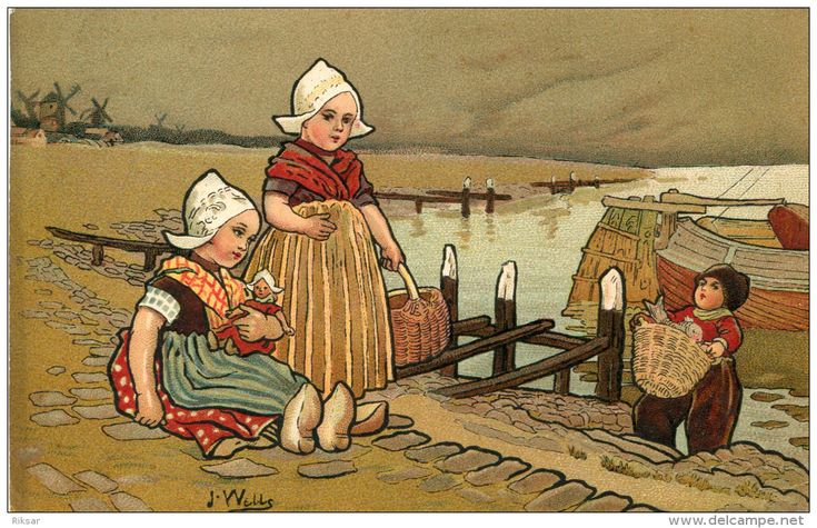 enfant hollandais - Delcampe.fr