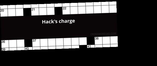 Hack S Charge Crossword Clue Download Hacks Tool Hacks Crossword