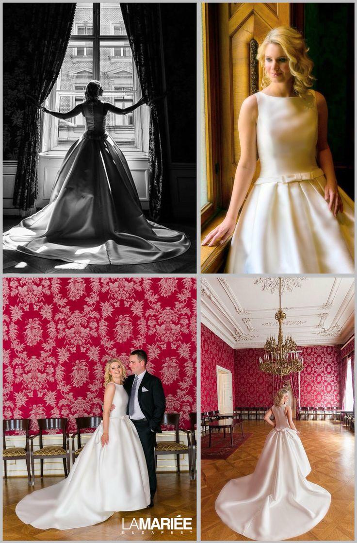 Barcaza esküvői ruha - 2015 Pronovias kollekció - Barbara menyasszony -La Mariée Budapest esküvői ruhaszalon http://lamariee.hu/eskuvoi-ruha/pronovias/barcaza