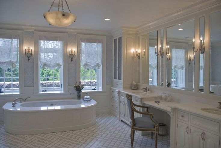 Peter balsam gorgeous bath interior in westchester ny for Interior decorator westchester ny
