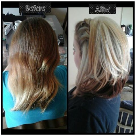 Local hairdresser @Travel_Hair_by_Anna did this amazing #topdeck OLAPLEX Transformation! Don't you just love it when clients leave your chair satisfied?