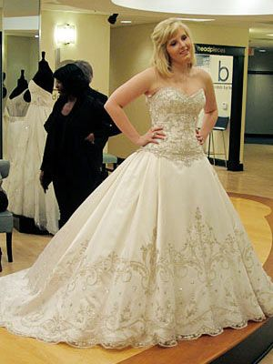 114 best images about reality wedding tlc tv shows on for Plus size wedding dresses in atlanta