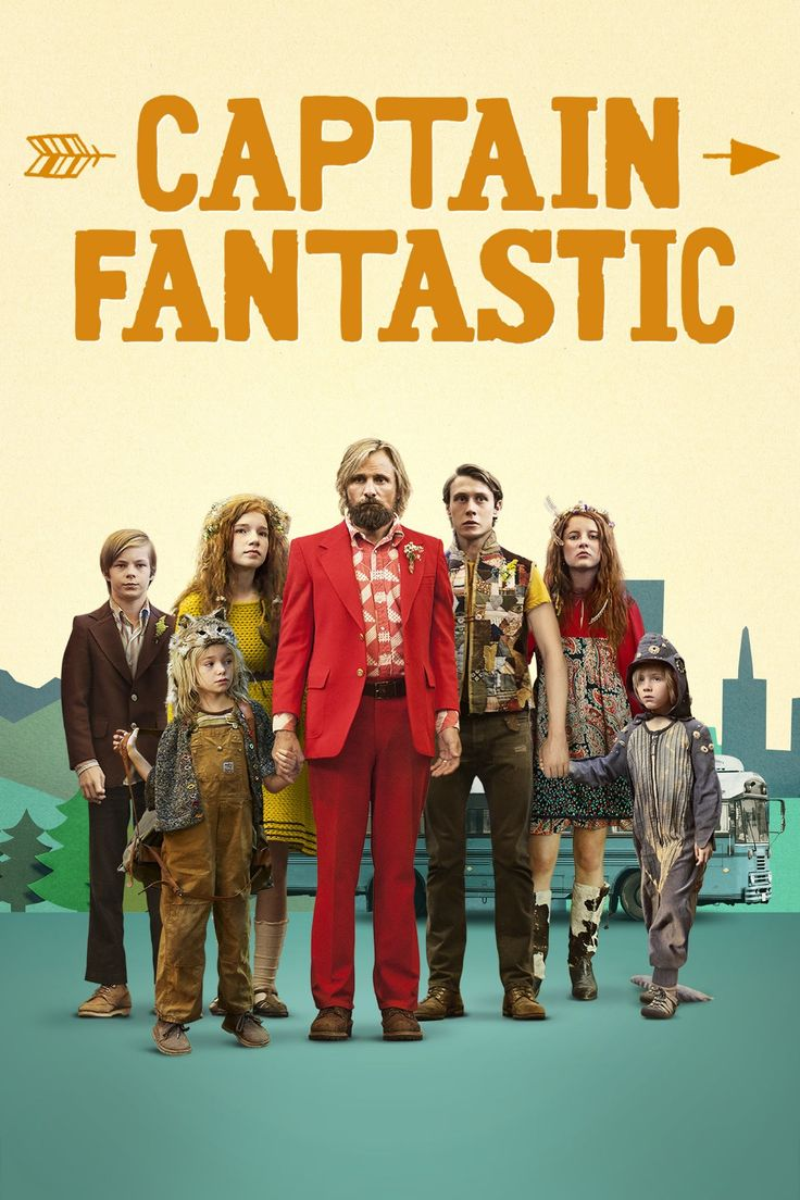 Captain Fantastic | Fun Art House Movie about a dad who is raising his 6 kids in the forest all by himself in quite an extravagant way. They go through a strict intellectual regime & enough exercise everyday. Then one day, they are forces to leave their little world to enter the 'real world', which brings some unique and humorous challenges.